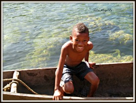 Little boy in Zapeletas, Colombia