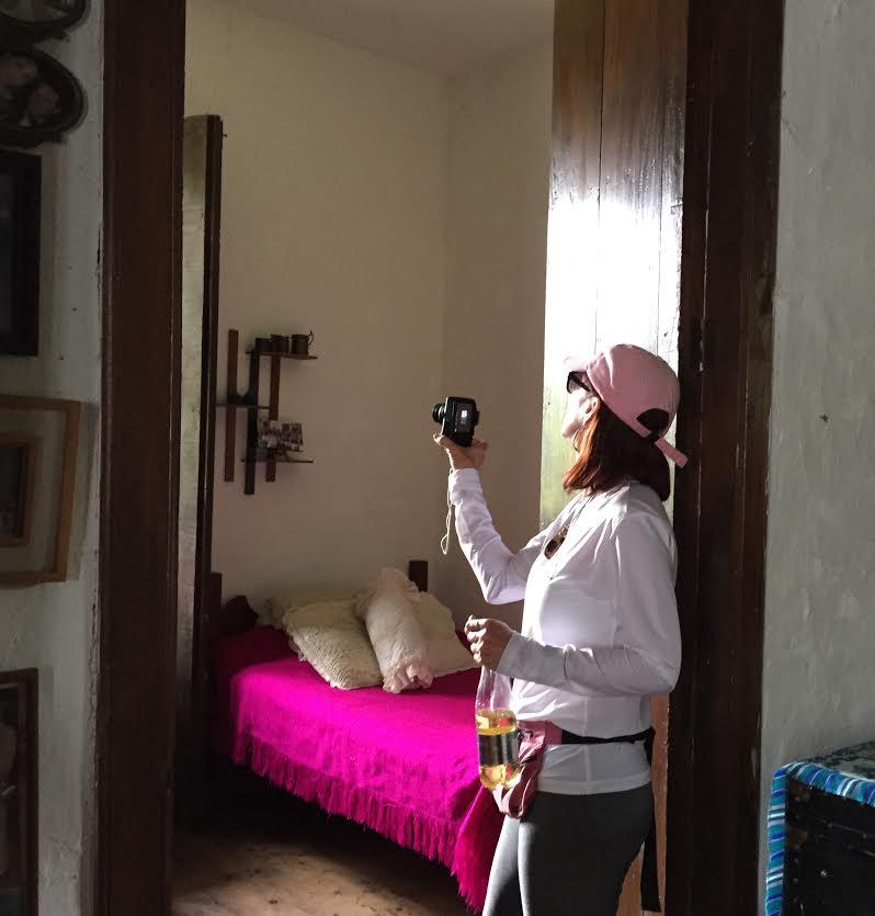 Michele taking a photo