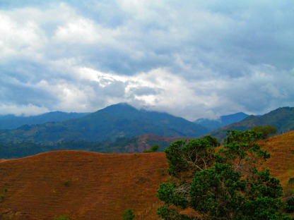 Colombia is the beauty of the mountains