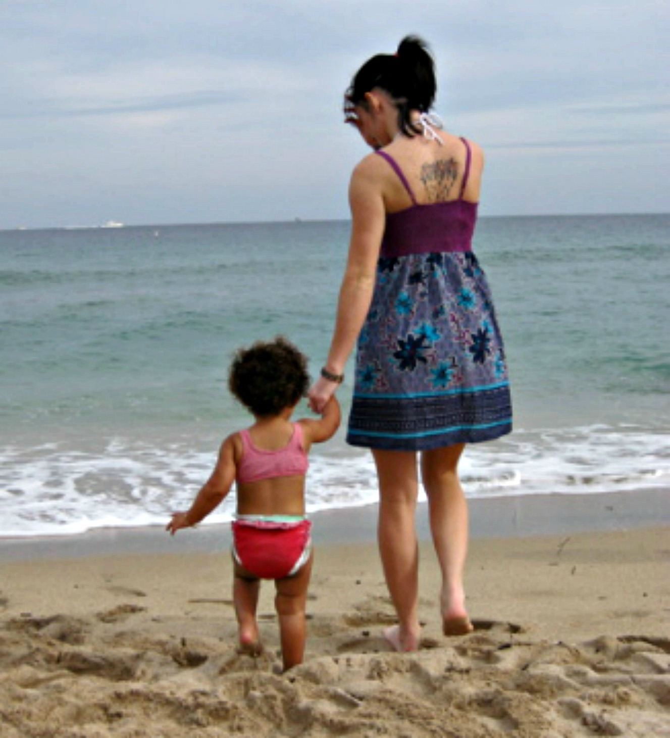 Misha and Amaya beach
